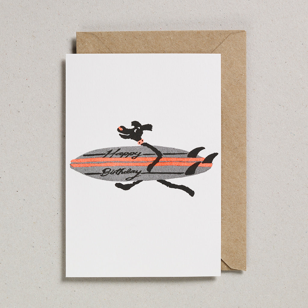 Rascals Cards - Surfing Dog