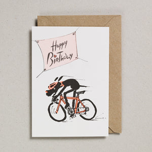 Rascals Cards -  Cycling Dog