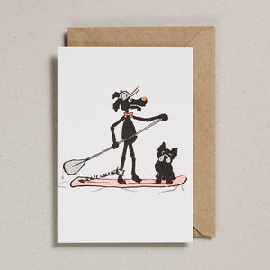 Rascals Cards -  Paddle Board Dog