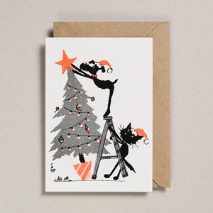 Rascals Cards -  Christmas Tree Decorating