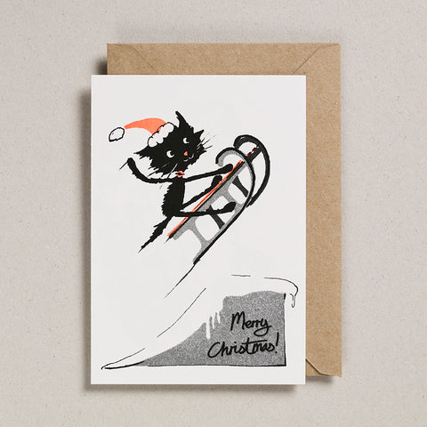 Rascals Cards -  Sledging Cat