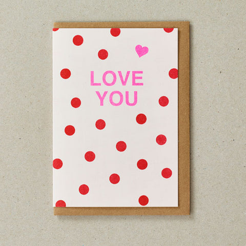 Riso Occasions Cards - Love You