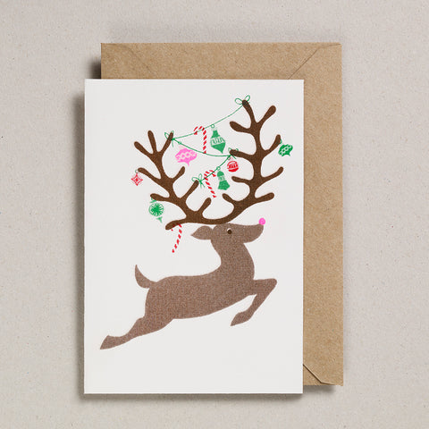Riso Christmas - Leaping Deer