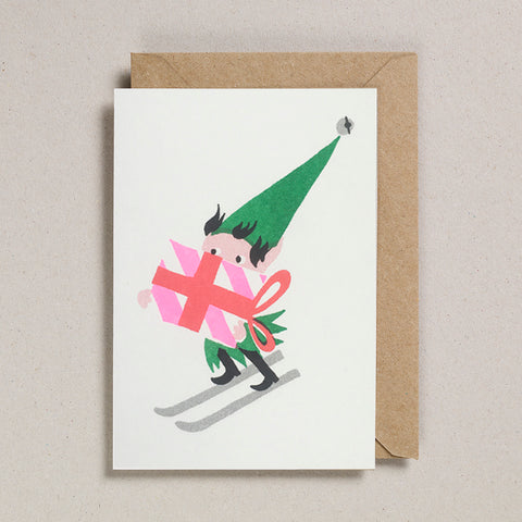 Riso Christmas - Skiing Elf