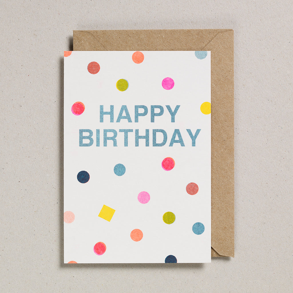 Riso Occasions Cards - Happy Birthday Spots