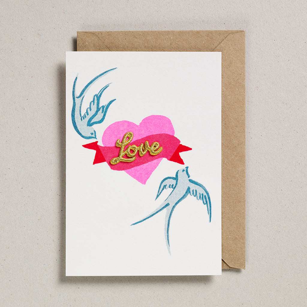 Love & Friendship Cards - Bird & Heart