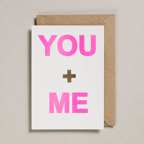 Love & Friendship Cards - You & Me