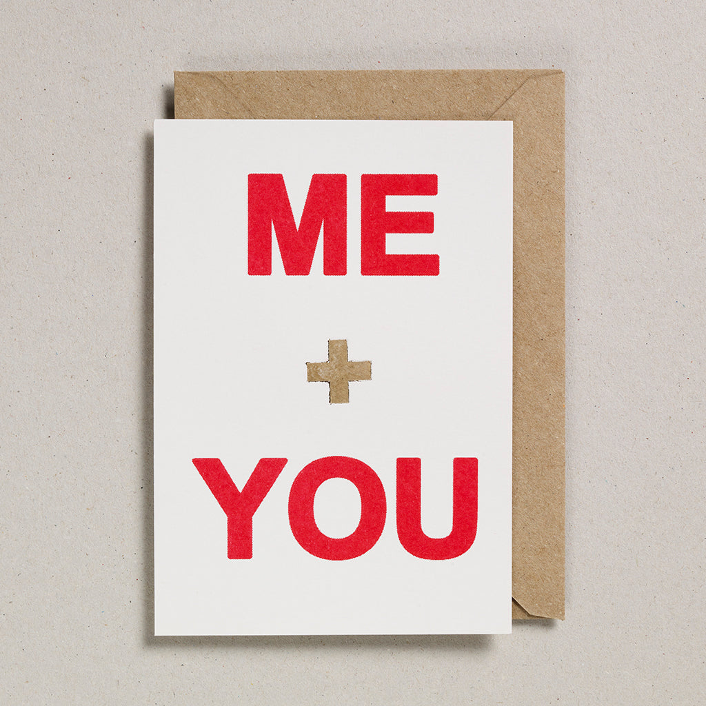 Love & Friendship Card - Me & You
