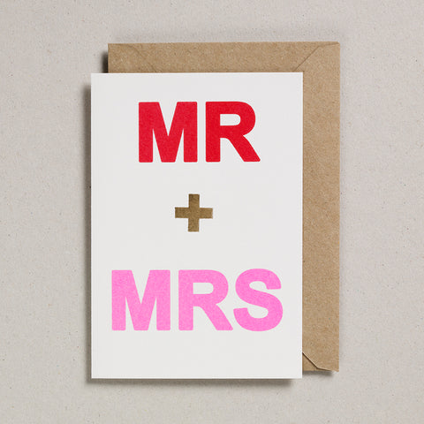 Love & Friendship Card - Mr & Mrs