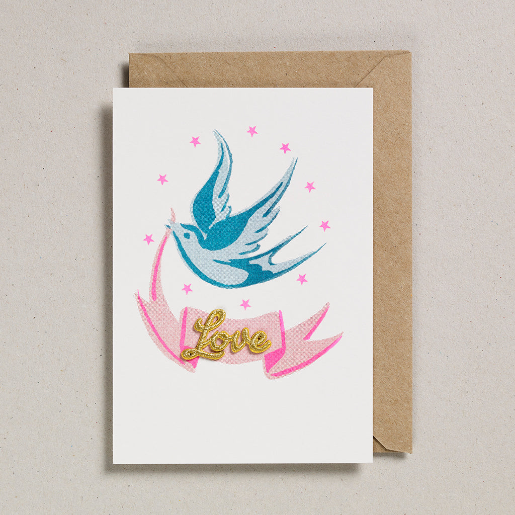 Love & Friendship Cards - Bird & Ribbon