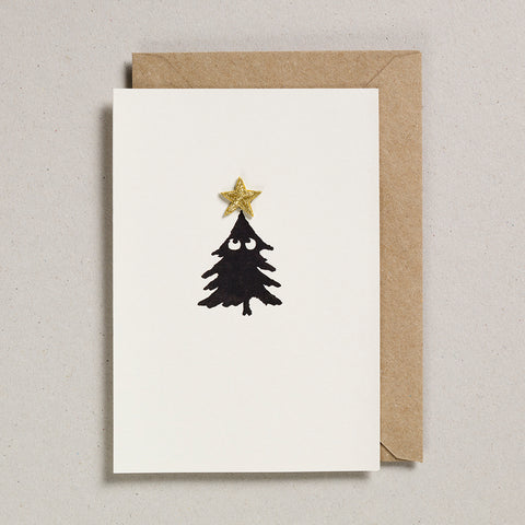 Iron on Christmas Charm - Tree