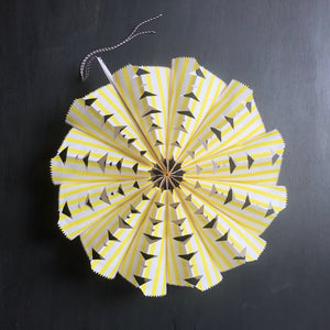 Paper Bag Fan Kit - Yellow