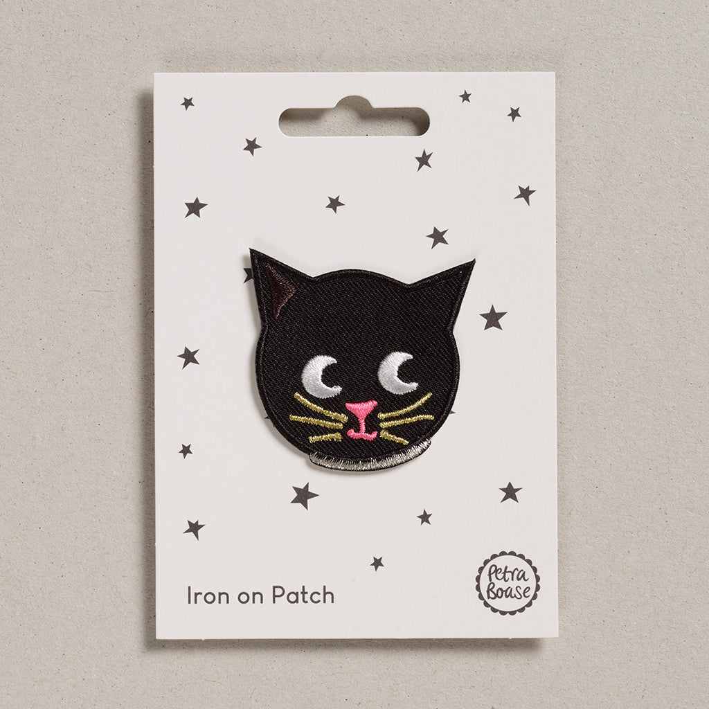 Iron on Patch - Cat