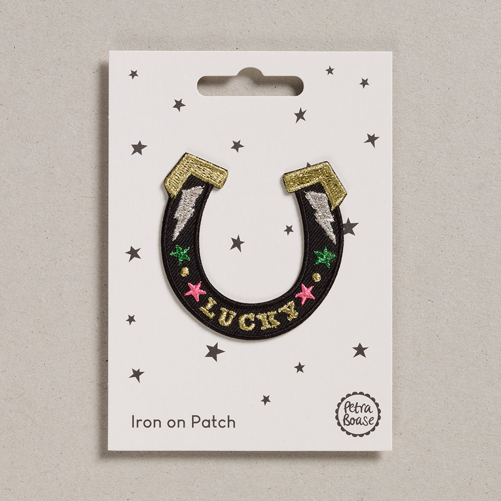 Iron on Patch - Horse Shoe