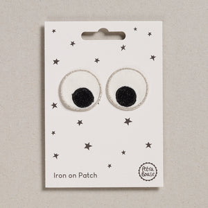 Iron on Patch - Eyes