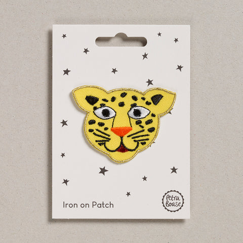 Iron on Patch - Leopard