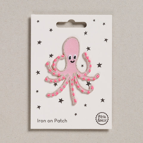 Iron on Patch - Octopus