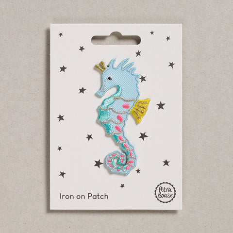Iron on Patch - Seahorse