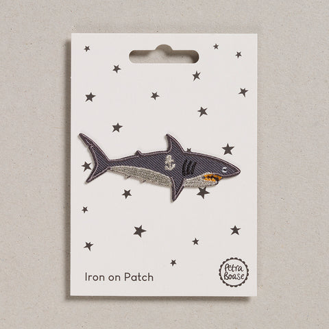 Iron on Patch - Shark