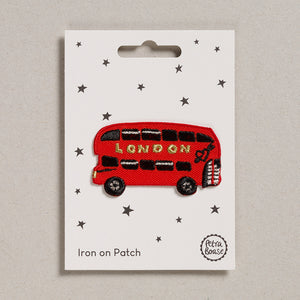 Iron on Patch - London Bus