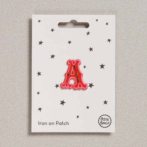 "Alphabet Patches - ""A"""
