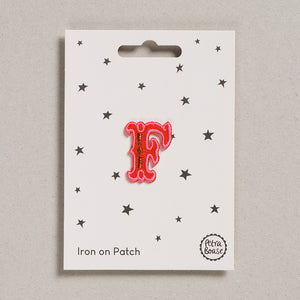 "Alphabet Patches - ""F"""