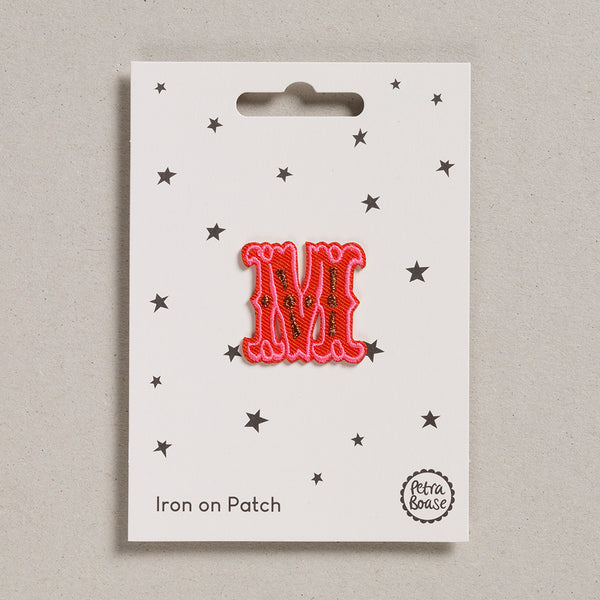 "Alphabet Patches - ""M"""