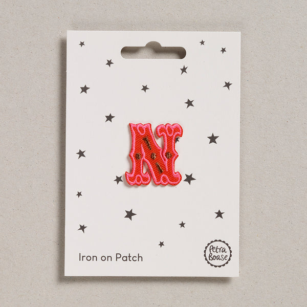 "Alphabet Patches - ""N"""