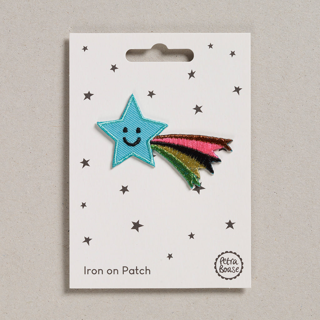 Iron on Patch - Shooting Star