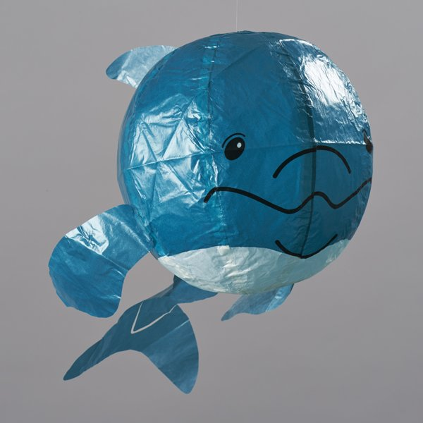 Japanese Paper Balloon - Blue Whale