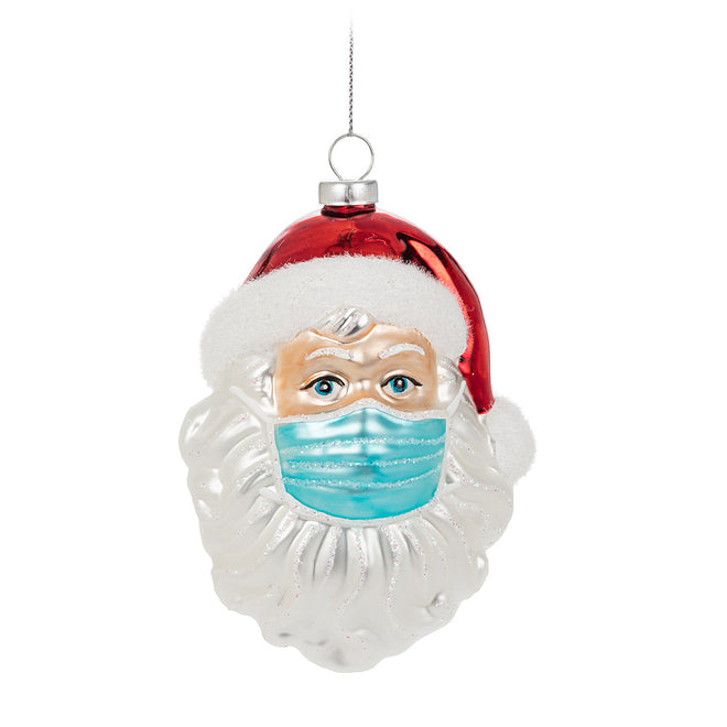 COVID HOLIDAY MASKS & ORNAMENTS