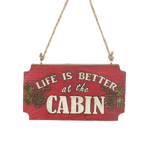Cabin Life Ornament