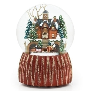 Train Station Snowglobe