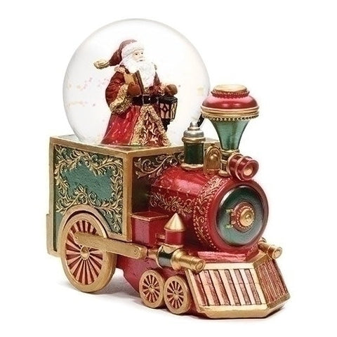 Santa's Train Snowglobe