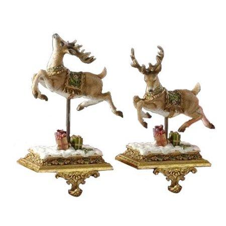 Assorted Reindeer Stocking Holder, INDIVIDUALLY SOLD