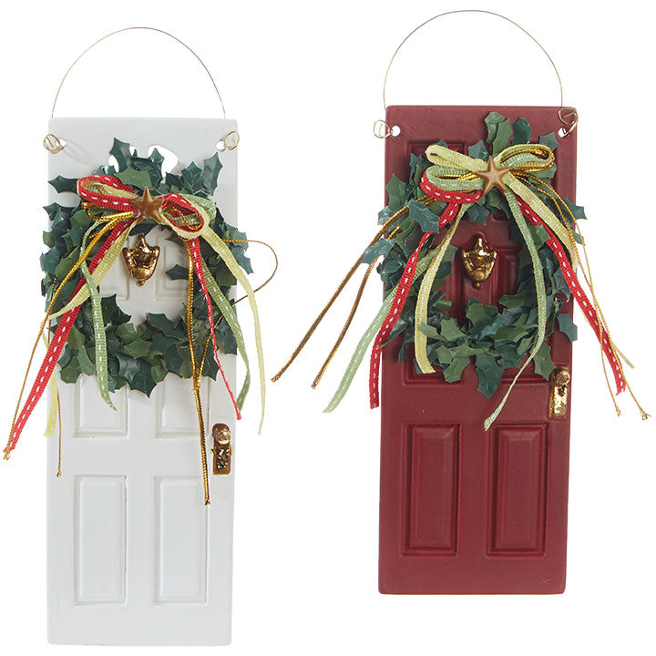 Assorted New Home Font Door Ornament, INDIVIDUALLY SOLD