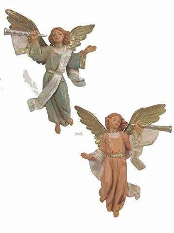 Trumpeting Angels set of 2,  5""
