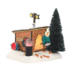 Snow Village: National Lampoon's Christmas Vacation: Griswold Sled Shack
