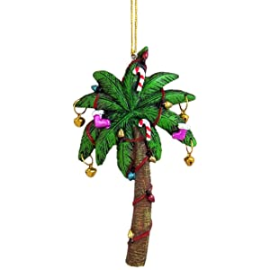 Palm Tree With Lights Ornament