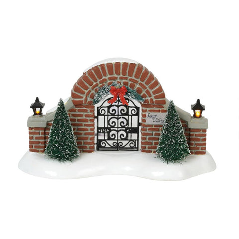 Snow Village: Gate