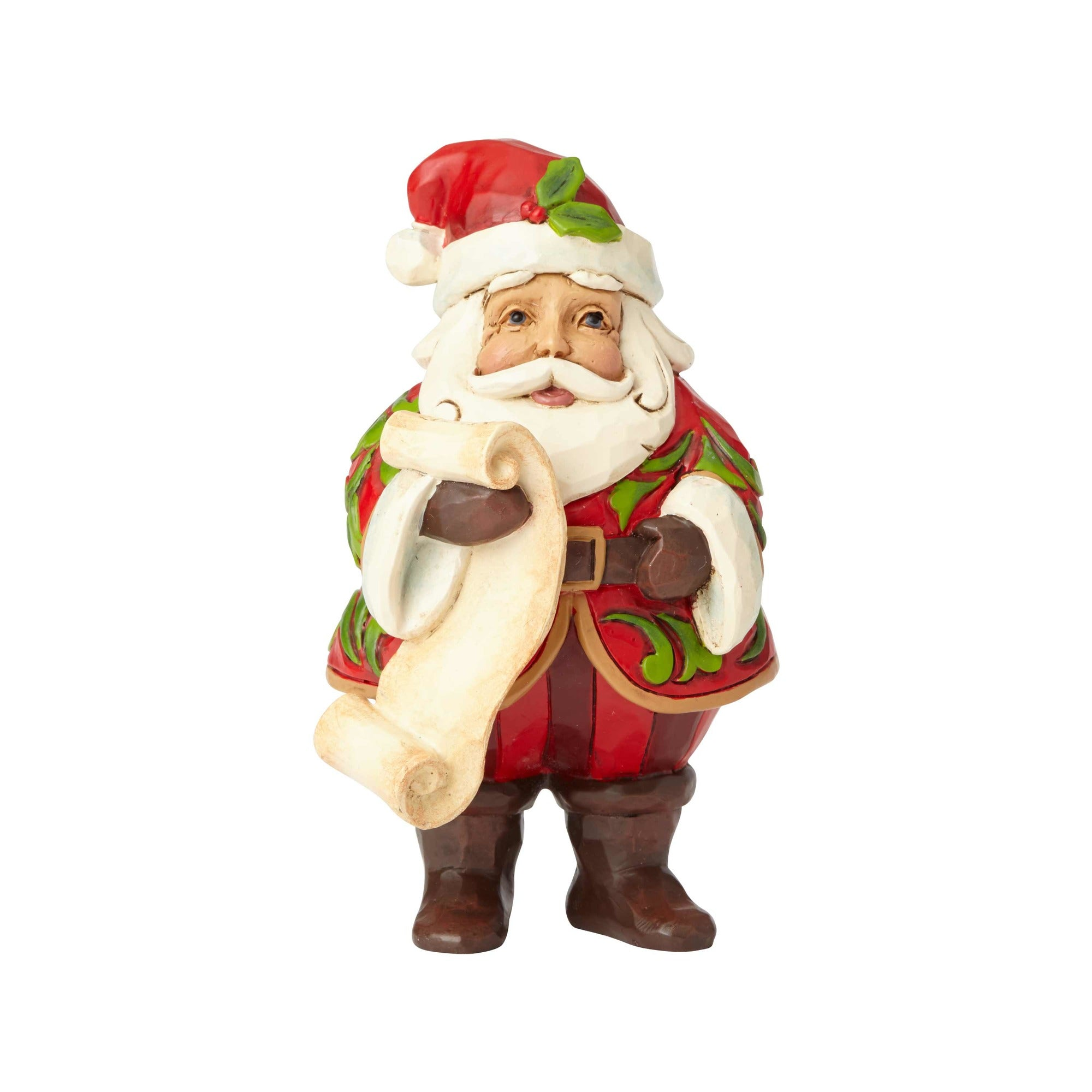 Mini Santa with List
