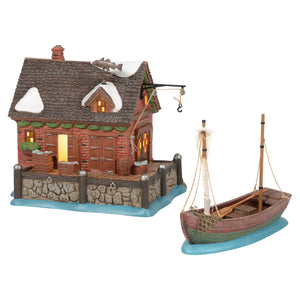 Dickens Village: Set of 2. West India Docks