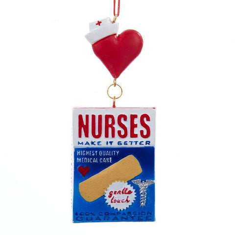 Nurse Bandage Box Ornament
