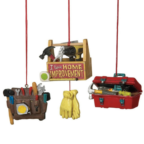 Assorted Tools Ornament, INDIVIDUALLY SOLD
