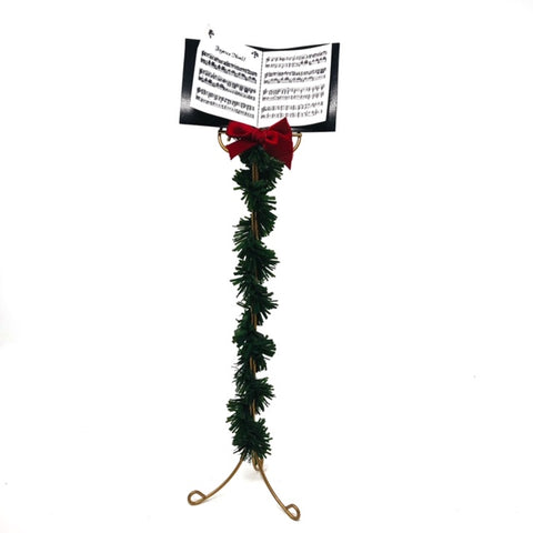 Byers Choice: Miniature Music stand with Sheet Music