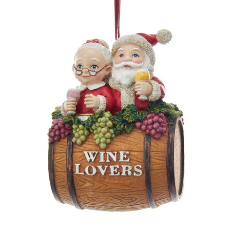 Wine Lovers Ornament