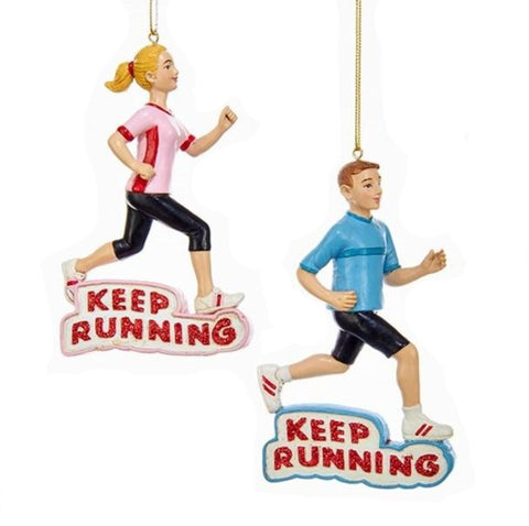 2 Assorted Runner Ornament
