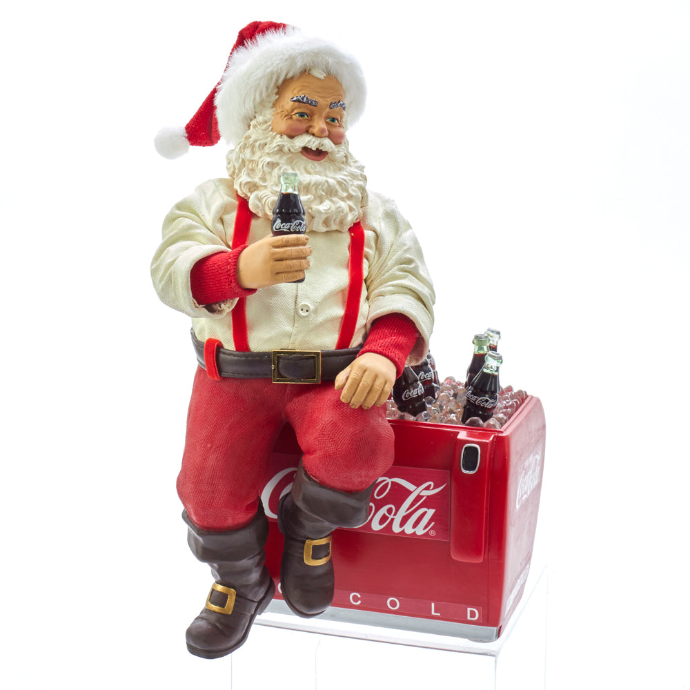 Coca Cola Santa on Cooler