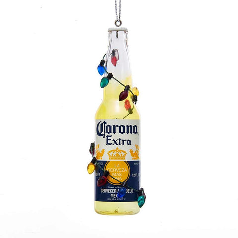 Corona Bottle with lights Ornament