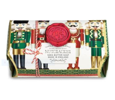 Michel Design Works Large Soap Bar: Nutcracker
